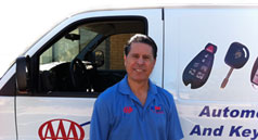 US Key Service owner, Tom Thilgen, in Gold Canyon, AZ