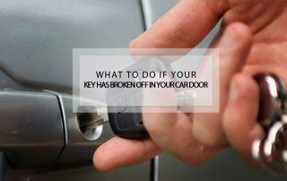 what to do if car key broken off in car door