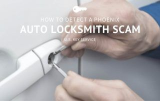 how do detect a phoenix auto locksmith scam